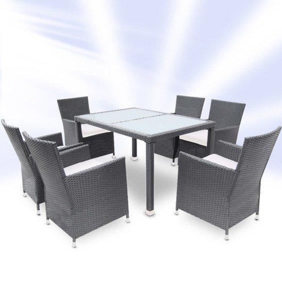 2 stalai pilkas