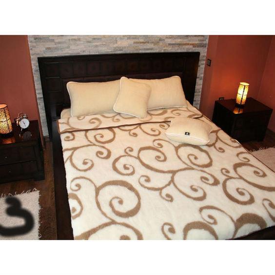 Merino vilnos pledas - antklodė