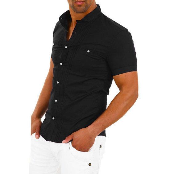 Herren polo hemden carisma kurzarmhemd 9006 navy