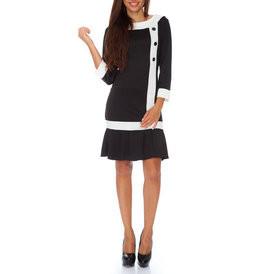 Suknele teniso stiliaus su sagutemis juodos spalvos