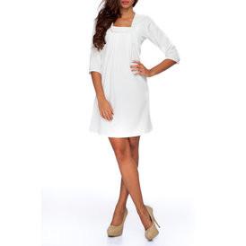 Suknele su kaspineliu baltos spalvos