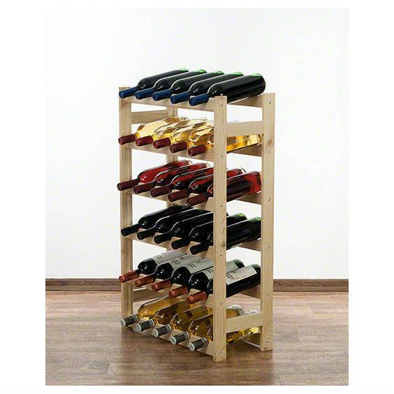 Vyno butelių lentyna