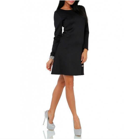 Platejanti suknele ilgomis rankovemis v246 5 1