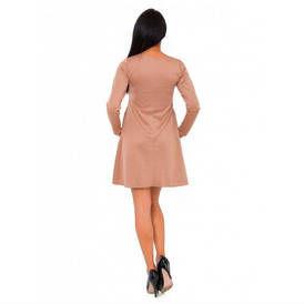 Platejanti suknele ilgomis rankovemis v246 1