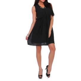 Sifonines sukneles be rankoviu juoda