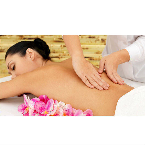Re vitalize yourself with a swedish back massage