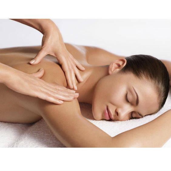 Back neck shoulder massage
